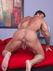 Zeb Atlas Returns and got his cock serviced