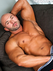 Nikko Brave Rides Muscular Hunk Max Chevalier's Uncut Dick