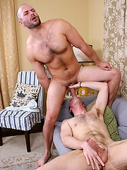 Hot hunks David Chase and Ben Tramer fucking