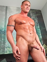 Bryce Tucker gets quite the inspiration for a deposit at the Cum and Go Sperm Depository when he sees the guy at the counter is none other than hot, h