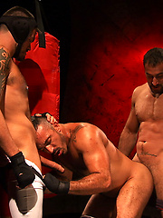 Spencer Reed, Alessio Romero and Lance Navarro Full Fetish The Men of RECON Scene 1
