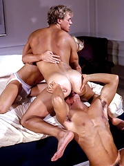 Muscled Casey Jordan, Race Jensen and Steve Hammond have sex