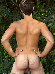 Dane is Back - Furry Muscle Jock Opens his Hairy HOLE