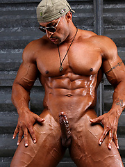 Big muscled man Rico Cane