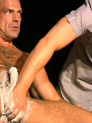 Bruno Bond w/ Richard Savvy in Shave
