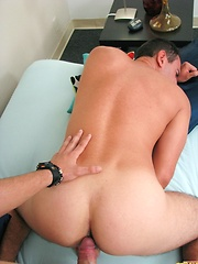 Santiago Gets Fucked and Busts 3 Nuts