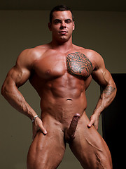Meet Norman Cox, the apotheosis of the Muscle Boy Next Door, a powerful young bull ripe for your delectation.
