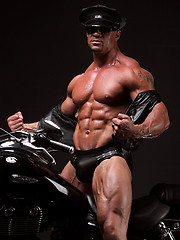 Latino bodybuilder Eddie Camacho return