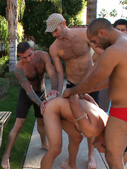 Bound and Humiliated at Helios Resort.Cole Streets,Gianni Luca.