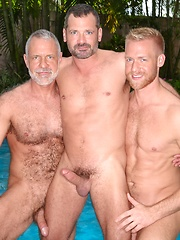 Christopher Daniels, Allen Silver and Will Swagger goes threesome