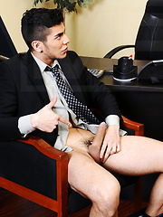 A horny office fuck