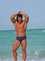 Alex Descha - Latino Muscle Stripper From Miami