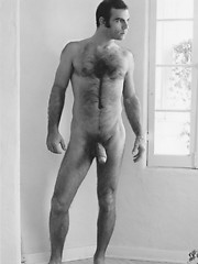 Hairy mature hunk posing naked. Colt vintage pics.