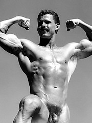 Vintage pics of muscle man Gardner Shore