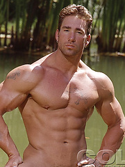 Bodybuilder Billy Herrington naked