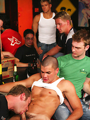 Adam North, Andy Briggs, Brad Patton, Danny Lopez, Jason Crew and Jason Kingsley - orgy