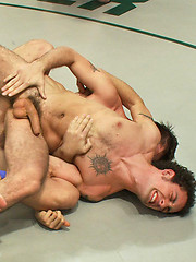 Four big dicked ripped studs battle it out in a powerful tag team match that ends with a hot tag team fuck finale.