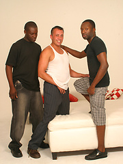 Two black guys doing gay man