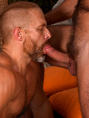 2 Men Kiss: Daddies Dirk Caber and Anthony London
