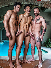 Rico Marlon And Sergeant Miles Double-penetrate Ken Summers