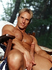 Blond athlete Rich naked