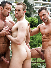 Manuel Skye And Nick Capra Double-team Jackson Radiz Bareback